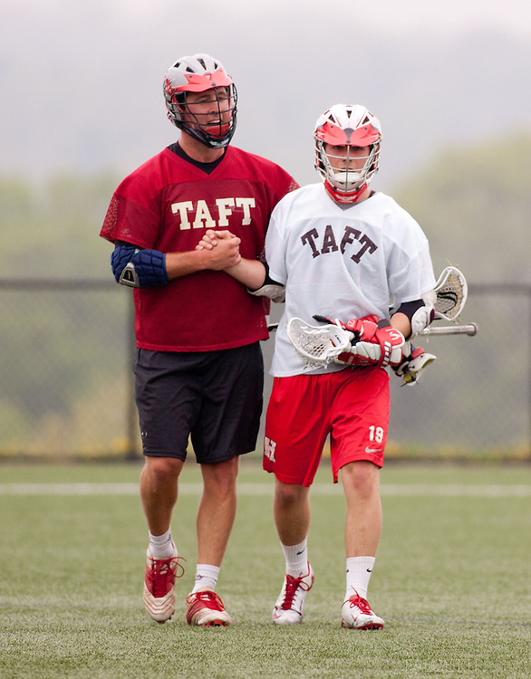 Taft School-Alumni Weekend 2013- Taft Alumni Lacrosse celebrating 50 years of Lacrosse at Taft. (Photo by Robert Falcetti)