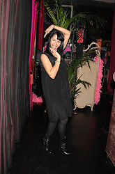 LISA MOORISH at a pajama party at The Cuckoo Club, Swallow Street, London on 2nd April 2008.<br /><br />NON EXCLUSIVE - WORLD RIGHTS