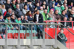 04.04.2015, Ernst Happel Stadion, Wien, AUT, 1. FBL, SK Rapid Wien vs RZ Pellets WAC, 27. Runde, im Bild Dietmar Kuehbauer (RZ Pellets WAC) // during Austrian Football Bundesliga Match, 27th Round, between SK Rapid Vienna and RZ Pellets WAC at the Ernst Happel Stadion, Wien, Austria on 2015/04/04. EXPA Pictures © 2015, PhotoCredit: EXPA/ Alexander Forst