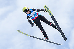 30.01.2016, Normal Hill Indiviual, Oberstdorf, GER, FIS Weltcup Ski Sprung Ladis, Bewerb, im Bild Elisabeth Raudschl (AUT) // Elisabeth Raudschl Stolz of Austria during his Competition Jump of Four Hills Tournament of FIS Ski Jumping World Cup Ladis at the Normal Hill Indiviual, Oberstdorf, Germany on 2016/01/30. EXPA Pictures © 2016, PhotoCredit: EXPA/ Peter Rinderer