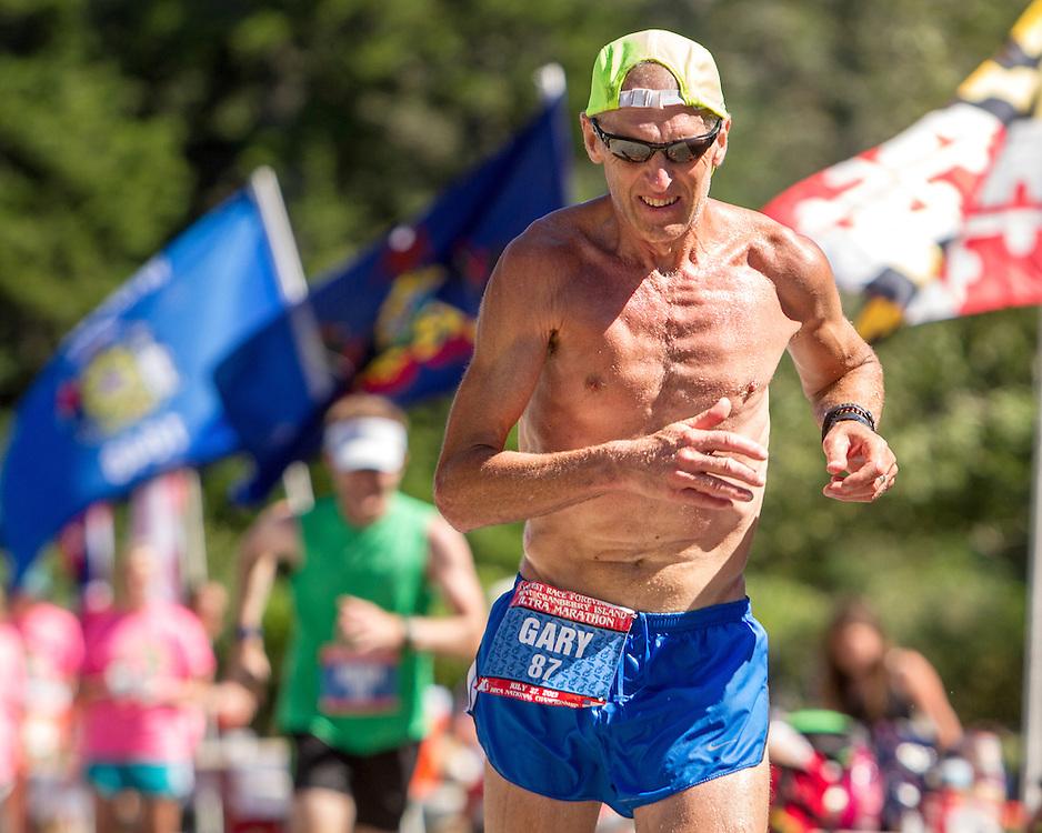 Gary Allen, Great Cranberry Island Ultra 50K road race: