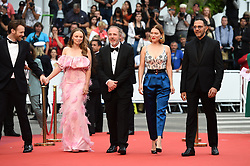 May 22, 2019 - Cannes, France - 72eme Festival International du Film de Cannes. Montée des marches du film ''Roubaix, une lumiere (Oh Mercy!)''. 72th International Cannes Film Festival. Red Carpet for ''Roubaix, une lumiere (Oh Merci!)'' movie.....239728 2019-05-22  Cannes France.. Zem, Roschdy; Desplechin, Arnaud; Forestier, Sara; Seydoux, Léa (Credit Image: © L.Urman/Starface via ZUMA Press)