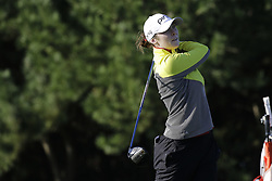 October 13, 2017 - Incheon, South Korea - Brittany Altomare of USA action on the 2th tee during an KEB HANA BANK LPGA Championship day 2 at Sky72 Ocean Golf range in Incheon, South Korea. (Credit Image: © Ryu Seung Il via ZUMA Wire)