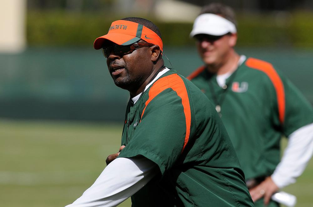 2012 Miami Hurricanes Football - Spring Practice