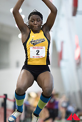 American International, long jump