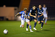 Colchester United midfielder Sammie Szmodics (10) sprints forward during the EFL Trophy match between Colchester United and Southend United at the Weston Homes Community Stadium, Colchester, England on 9 October 2018.