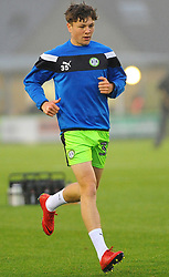 Jordan Stevens of Forest Green Rovers warms up -Mandatory by-line: Nizaam Jones/JMP - 18/11/2017 - FOOTBALL - New Lawn Stadium - Nailsworth, England - Forest Green Rovers v Crewe Alexandre-Sky Bet League Two