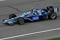 Dario Franchitti, Road Runner Turbo Indy 300, Kansas Speedway, Kansas City, KS USA  5/1/2010