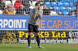Mark Tyler of Peterborough United - Mandatory by-line: Joe Dent/JMP - 23/04/2016 - FOOTBALL - ABAX Stadium - Peterborough, England - Peterborough United v Scunthorpe United - Sky Bet League One