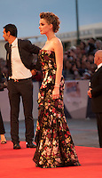 Actress Amber Heard at the gala screening for the film The Danish Girl  at the 72nd Venice Film Festival, Saturday September 5th 2015, Venice Lido, Italy.