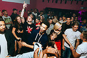 UK Grime Scene, crowd dancing. Brighton 2014