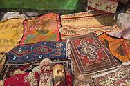 Carpets on display in Kalekoy, Turkey<br /> c. Ellen Rooney