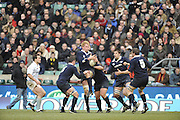 Twickenham, GREAT BRITAIN,  Oxfords, Ian KENCH, collects the high ball, during the 2008 Varsity Rugby match Oxford vs Cambridge played at the RFU Stadium Twickenham, Surrey on  Thursday, 11/12/2008 [Photo, Peter Spurrier/Intersport-images]