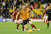 Wolverhampton Wanderers midfielder Kevin McDonald on the ball during the Sky Bet Championship match between Wolverhampton Wanderers and Nottingham Forest at Molineux, Wolverhampton, England on 11 December 2015. Photo by Alan Franklin.