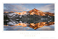 South Sister Oregon Poster