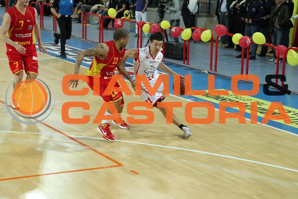 DESCRIZIONE : Frosinone Lega Basket A2 2010-2011 Playoff quarti gara 4 Prima Veroli Immobiliare Spiga Rimini<br /> GIOCATORE : Alessandro Piazza       <br /> SQUADRA : Immobiliare Spiga Rimini  <br /> EVENTO : Campionato Lega Basket A2 2010-2011<br /> GARA : Prima Veroli Immobiliare Spiga Rimini <br /> DATA : 20/05/2011<br /> CATEGORIA :  palleggio      <br /> SPORT : Pallacanestro<br /> AUTORE : Agenzia Ciamillo-Castoria/A.Ciucci<br /> Galleria : Lega Baket A2 2010-2011<br /> Fotonotizia : Frosinone  Lega Basket A2 2010-2011 Playoff quarti gara 4 Prima Veroli Spiga Immobiliare Rimini <br /> Predefinita :