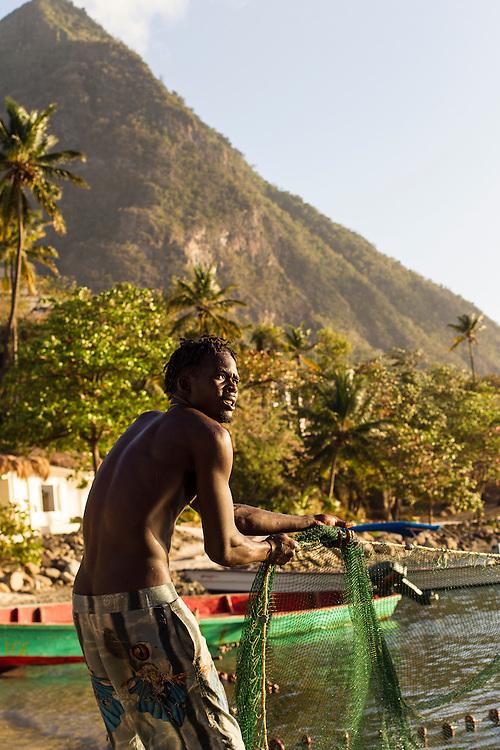 Sugar Beach, Saint Lucia. © Allen McEachern.