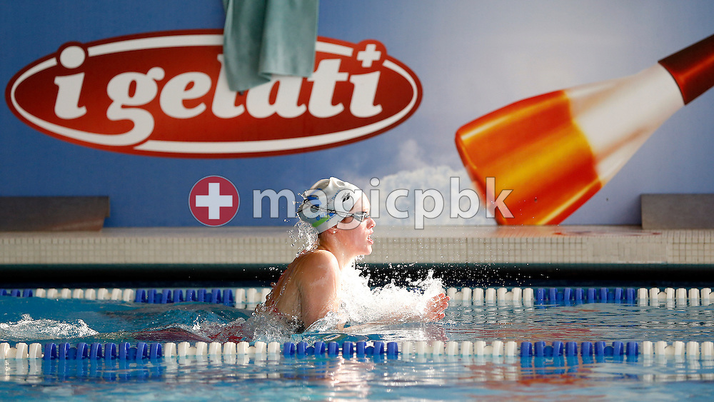 LIMM's Mia BARIC of Switzerland competes in the women's 400m Individual Medley (IM) Heats during the Swiss Short Course Swimming Championships in Lausanne, Switzerland, Friday, Nov. 29, 2013. (Photo by Patrick B. Kraemer / MAGICPBK)