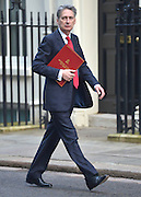 © Licensed to London News Pictures. 05/02/2013. Westminster, UK Defence Secretary.Philip Hammond. Cabinet Ministers arrive for the weekly Cabinet meeting on 5th February 2013. Photo credit : Stephen Simpson/LNP