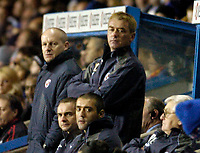 Photo: Leigh Quinnell.<br /> Reading v Southampton. Coca Cola Championship. 10/02/2006. Reading boss Steve Coppell looks on from the bench.