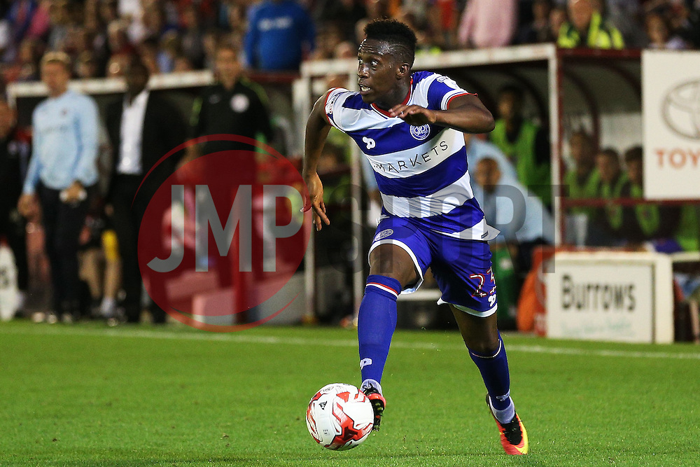 Yeni Atito Ngbakoto of Queens Park Rangers attacks - Mandatory by-line: Matt McNulty/JMP - 17/08/2016 - FOOTBALL - Oakwell Stadium - Barnsley, England - Barnsley v Queens Park Rangers - Sky Bet Championship