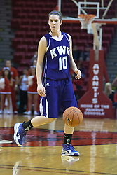 03 November 2009: Lauren Goffinet  during a game between Panthers of Kentucky Wesleyan and the Redbirds of Illinois State University on Doug Collins Court inside Redbird Arena in Normal Illinois.