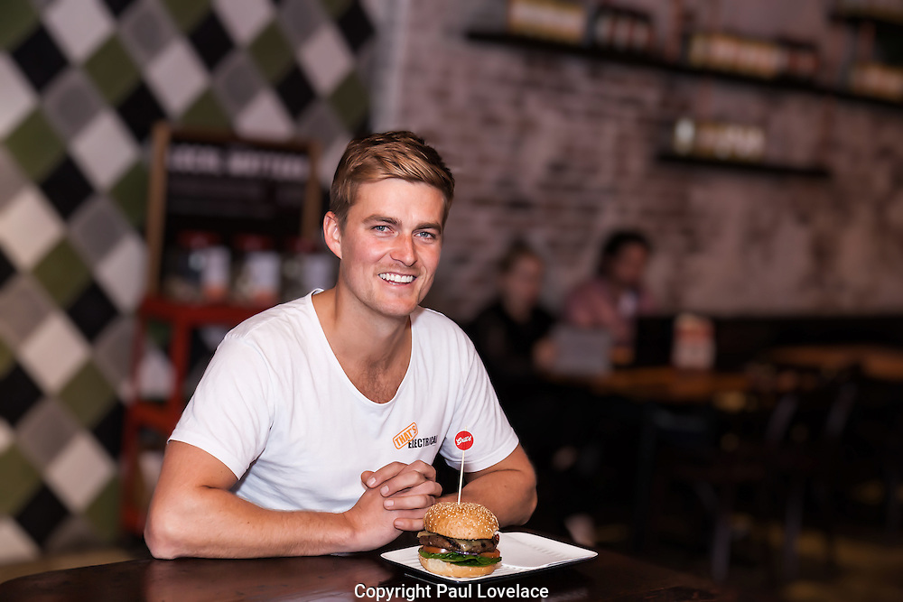 Smiling Mind and Grill'd shoot, Grill'd Darlinghurst. 15 July 2014.