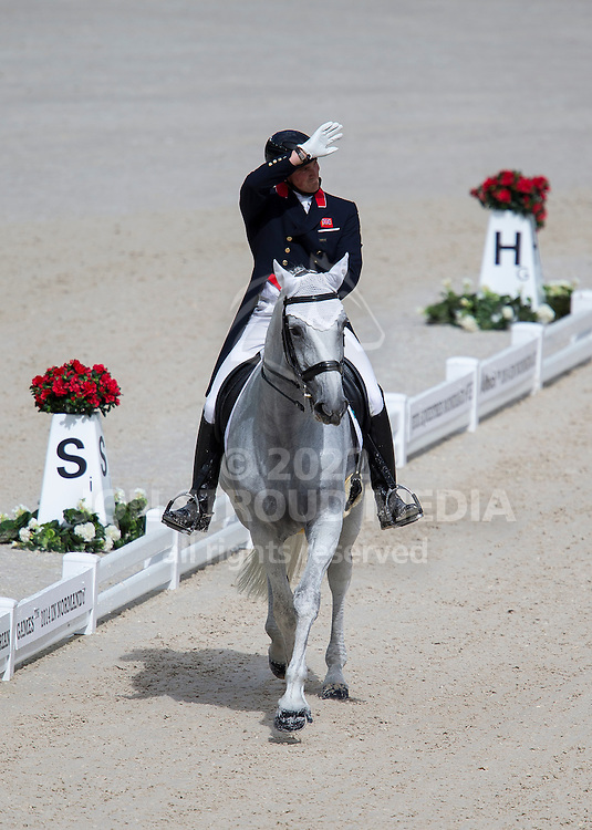 Michael Eilberg, (GBR), Half Moon Delphi - Grand Prix Team Competition Dressage - Alltech FEI World Equestrian Games&trade; 2014 - Normandy, France.<br /> &copy; Hippo Foto Team - Leanjo de Koster<br /> 25/06/14