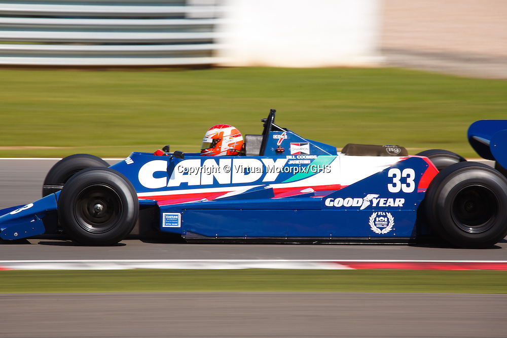 Tyrrell 009 GP Masters at Silverstone Classics 21/22 July 2012