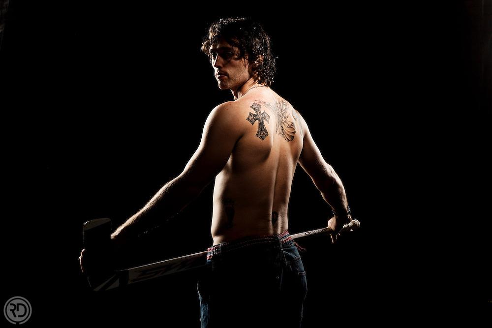 Drew MacIntyre - Professional hockey goalie.<br /> For BreakAway Magazine