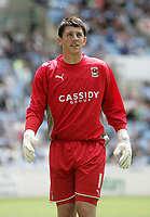 Fotball<br /> England<br /> Foto: Fotosports/Digitalsport<br /> NORWAY ONLY<br /> <br /> Coventry City v Everton Marcus Hall Testimonial Ricoh Arena 02/08/09 Coventry Goalkeeper Keiren Westwood