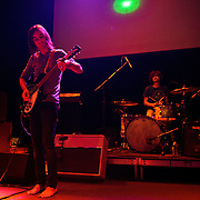 """WASHINGTON, DC - February 14th  2013 - Kevin Parker and Julien Barbagallo of Tame Impala perform at the 9:30 Club in Washington, D.C.  The band's sophomore album, """"Lonerism,"""" was released in October of 2012 and won numerous album of the year awards across the globe, including NME, Rolling Stone and Australia's Triple J radio. (Photo by Kyle Gustafson/For The Washington Post)"""