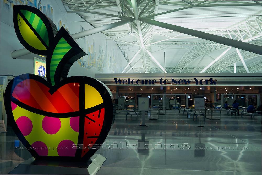 Terminal 8 (International Terminal) at JFK Airport, Queens, New York