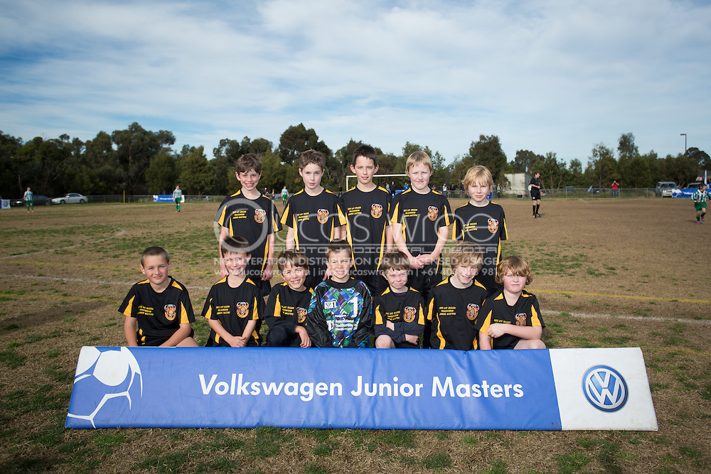 Maryborough City Soccer Club. Volkswagen Junior Masters Austtralia. Eastern Lions Soccer Club, Melbourne, Victoria, Australia. 08/07/2012. Photo By Lucas Wroe/Winkipop Media