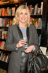 LISA FAULKNER at a party to celebrate the publication of How I Met My Son by Ros Powell held at Hatchards, 187 Piccadilly, London on 11th February 2016.