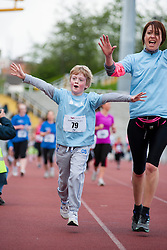Sheffield Half Marathon Fun Run Sunday Morning...12 May 2013.Image © Paul David Drabble