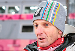 10.02.2018, Alpensia Ski Jumping Centre, Pyeongchang, KOR, PyeongChang 2018, Skisprung, Herren, Normalschanze, im Bild Cheftrainer Heinz Kuttin (AUT) // Headcoach Heinz Kuttin of Austria during the Mens Normalhill Skijumping of the Pyeongchang 2018 Winter Olympic Games at the Alpensia Ski Jumping Centre in Pyeongchang, South Korea on 2018/02/10. EXPA Pictures © 2018, PhotoCredit: EXPA/ Johann Groder
