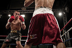 Scott Quigg looking focused.