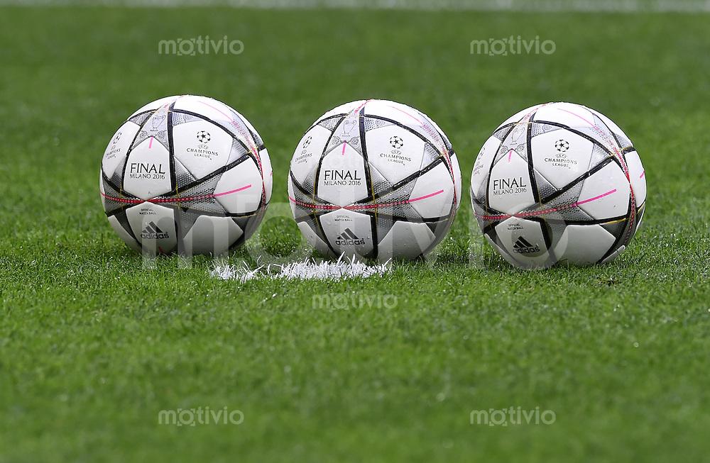 FUSSBALL  CHAMPIONS LEAGUE  FINALE  SAISON 2015/2016   Real Madrid - Atletico Madrid                   28.05.2016 Der Finalball von Adidas
