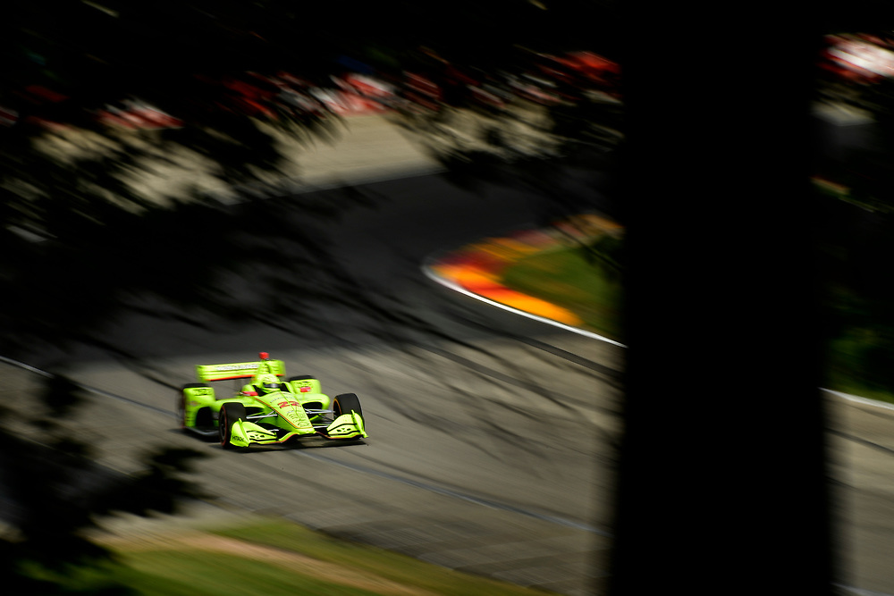 Charlie Kimball, Carlin Chevrolet<br /> Friday 22 June 2018<br /> KOHLER Grand Prix at Road America<br /> Verizon IndyCar Series<br /> Road America WI USA<br /> World Copyright: Scott R LePage