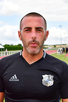 Jean Christophe Bouet of Amiens during the pre season friendly between Amiens SC and Sporting Charleroi on July 14, 2017 in Cambon, France. (Photo by Dave Winter/Icon Sport)