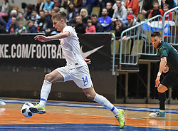 Matej Fidersek of Slovenia during futsal friendly match between National teams of Slovenia and Italy, on December 3, 2019 in Maribor, Slovenia. Photo by Milos Vujinovic / Sportida