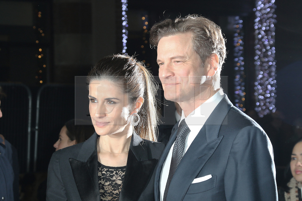 © Licensed to London News Pictures. 04/12/2013, UK. Livia Firth; Colin Firth, The Railway Man - UK Film Premiere, Odeon West End, Leicester Square, London UK, 04 December 2013. Photo credit : Richard Goldschmidt/Piqtured/LNP