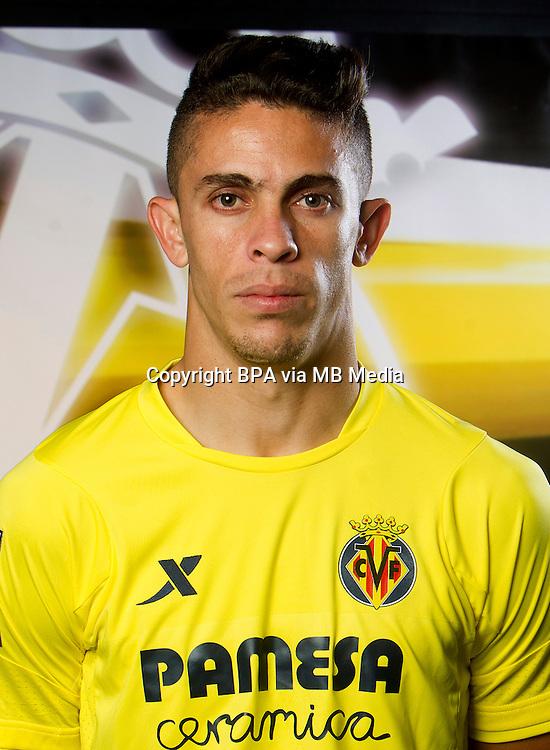 Spain - La Liga BBVA  2014-2015 / <br /> ( Villarreal C.F. ) - <br /> Gabriel Armando de Abreu &quot; Gabriel Paulista &quot;