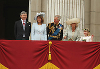 Michael Middleton (Father);  Carole Middleton (Mother); Charles Prince Of Wales; Camilla Duchess of Cornwall William & Kate Royal Wedding, London, UK, 29 April 2011:  Contact: Rich@Piqtured.com +44(0)7941 079620 (Picture by Richard Goldschmidt)