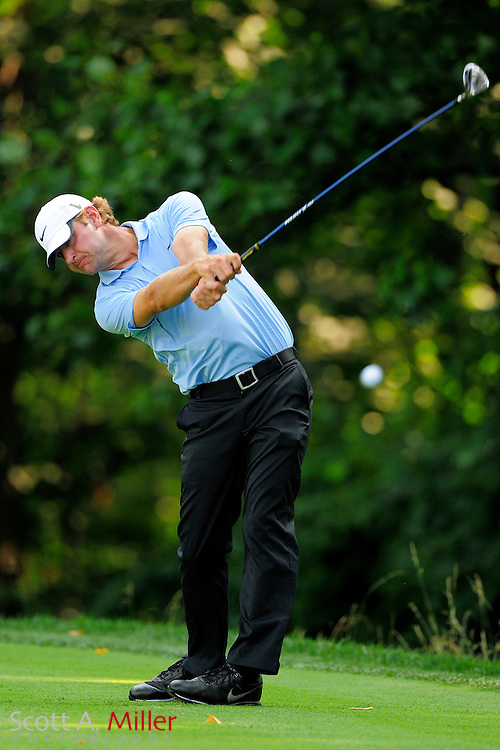 Lucas Glover during the first round of the AT&T National at Congressional Country Club on June 28, 2012 in Bethesda, Maryland. ..©2012 Scott A. Miller