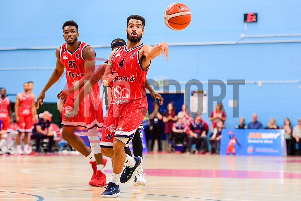 Lewis Champion of Bristol Flyers - Photo mandatory by-line: Ryan Hiscott/JMP - 03/11/2018 - BASKETBALL - SGS Wise Arena - Bristol, England - Bristol Flyers v Newcastle Eagles - British Basketball League Championship