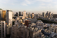 Argentina. Buenos Aires. the city view from the Hotel SOFITEL Art deco palace building - built by Mr Mihanovitch - in Retiro area , 841 arroyo street     /  la ville vue depuis hotel SOFITEL architecture ART DECO , dans la tour Mihanovitch rue arroyo  841 - quartier de Retiro  Buenos Aires - Argentine  R032