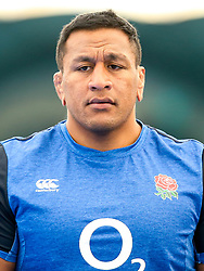 Mako Vunipola of England trains in the gym at Clifton College - Mandatory by-line: Robbie Stephenson/JMP - 15/07/2019 - RUGBY - England - England training session ahead of Rugby World Cup