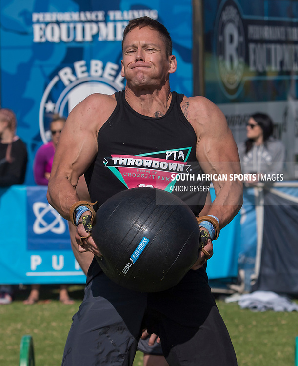 PRETORIA, SOUTH AFRICA - APRIL 29:  During the men's WOD 3 at the Pretoria Throw Down in Waterkloof High School on April 29, 2017 in Pretoria, South Africa. (Photo by Anton Geyser/Gallo Images)